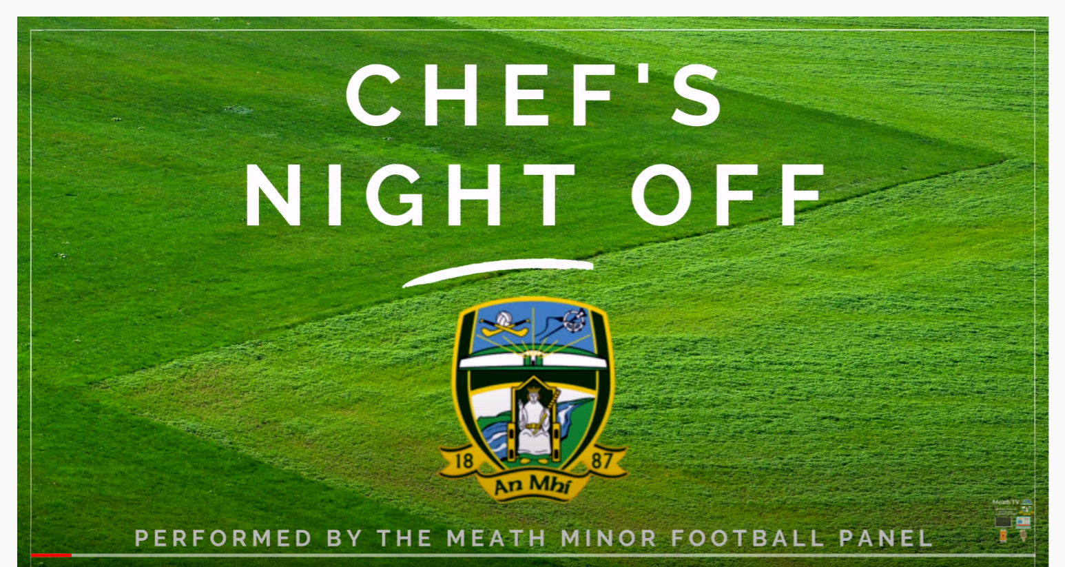 Meath Minor Footballers Cooking Challenge – Chef's Night Off