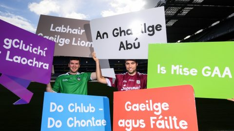Jamie Ó Tuama, GAA Irish Language Officer, and how the GAA is a wonderful part of our culture.