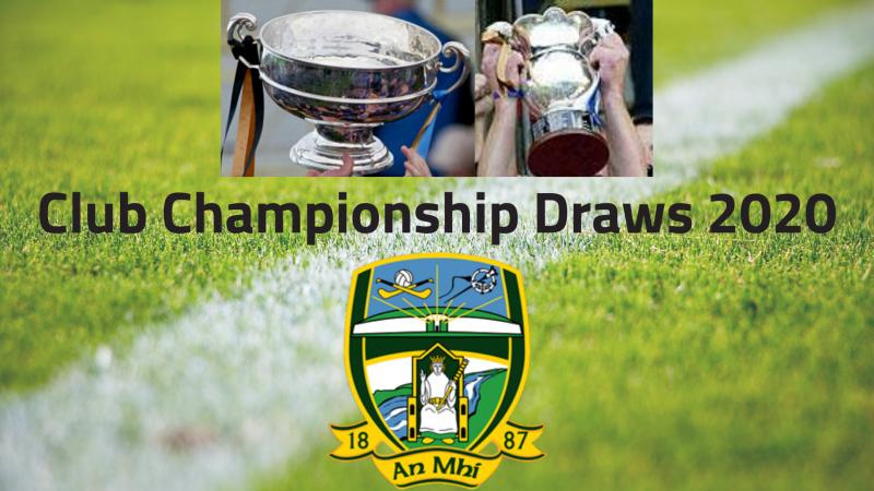 Meath GAA Club Championship Draws