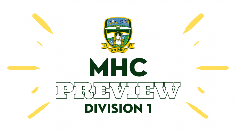 Minor Hurling Championship Division 1 Preview