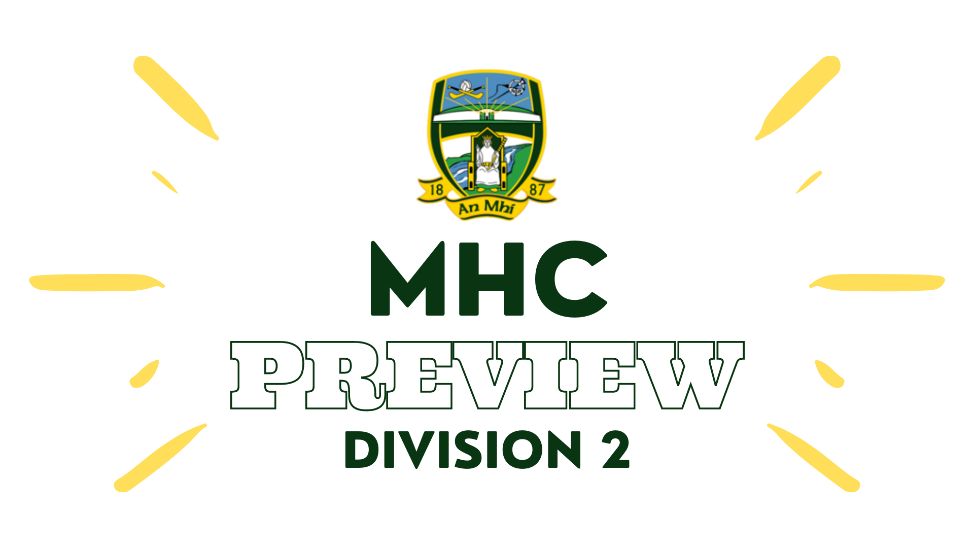 Minor Hurling Championship Division 2 Preview