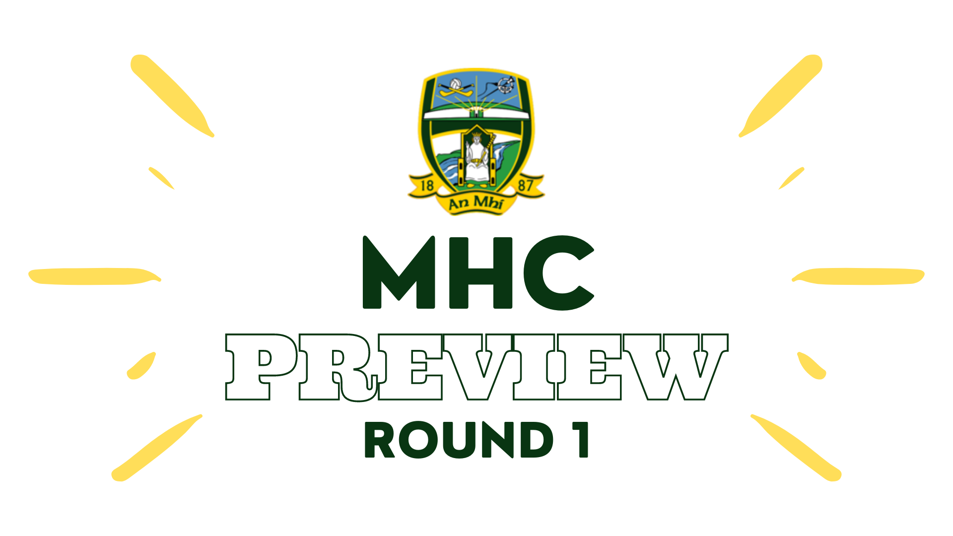 PREVIEW – Minor Hurling Championship ROUND 1