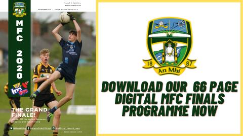 Get your MFC Finals digital programme now