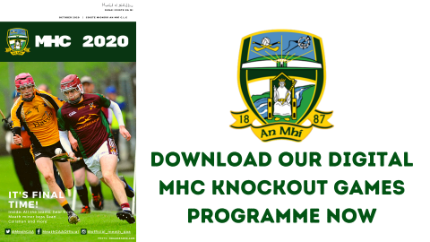 Get your MHC Knockout Games digital programme now
