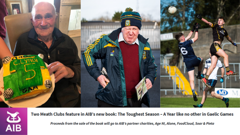 Two Meath Clubs feature in AIB's new book