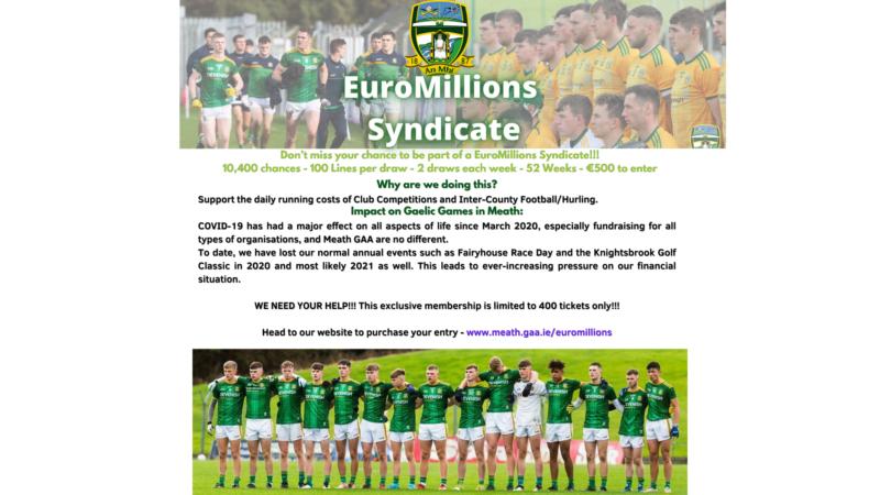 EuroMillions Syndicate – Meath GAA