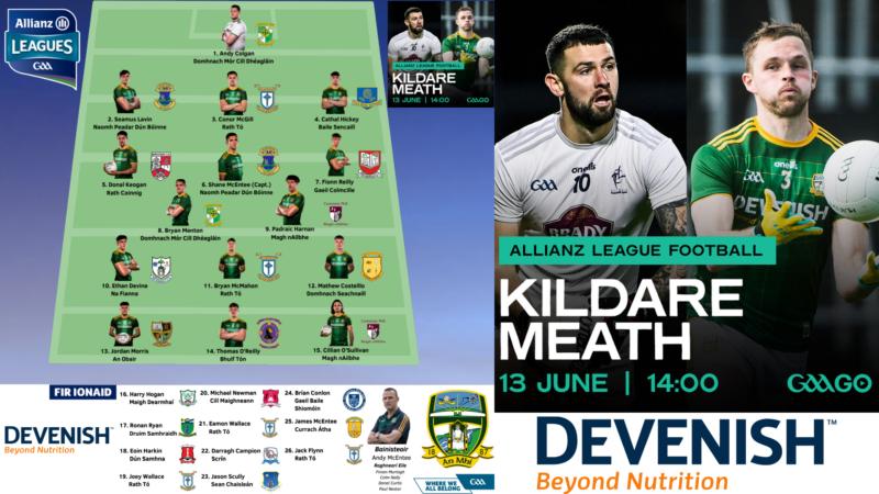 WATCH LIVE – Meath v Kildare – Allianz Football League Roinn II Semi-Final