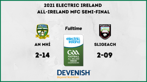 Meath Minors into the All-Ireland Final!!!