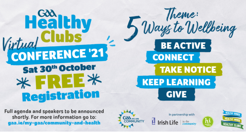 2021 GAA Healthy Clubs Conference