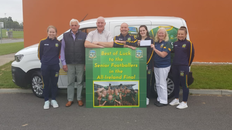 Meath G.A.A. happy to support the All-Ireland winning Meath Ladies Football Team
