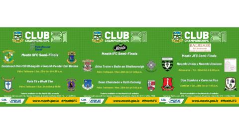 Tickets – Football Championship Semi-Finals